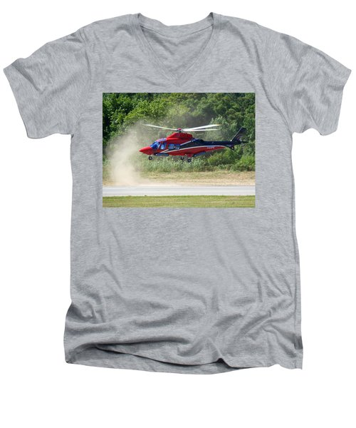 Close Landing  Men's V-Neck T-Shirt