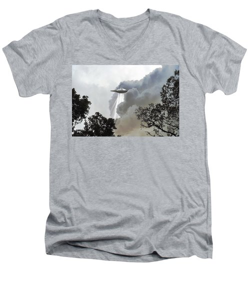 Cloud Cover Men's V-Neck T-Shirt by Brian Wallace