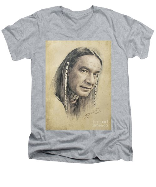 Cloud Dancing Men's V-Neck T-Shirt