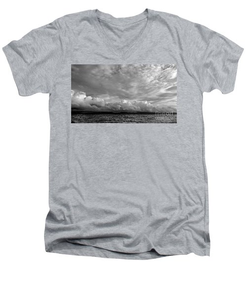 Clouds Over Alabat Island Men's V-Neck T-Shirt