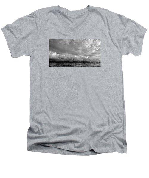 Clouds Over Alabat Island Men's V-Neck T-Shirt