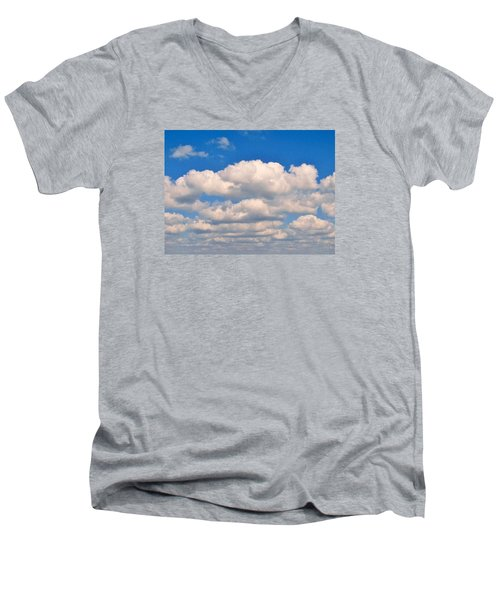 Clouds Over Lake Pontchartrain Men's V-Neck T-Shirt