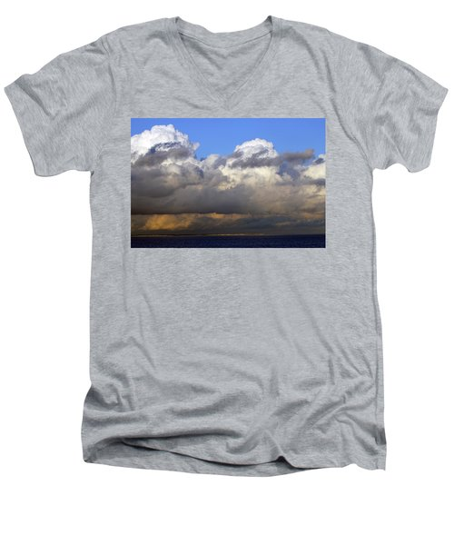 Clouds Over Portsmouth Men's V-Neck T-Shirt