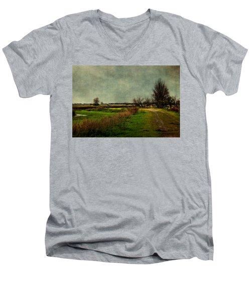 Cloudy Day Men's V-Neck T-Shirt