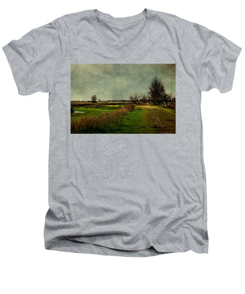 Cloudy Day Men's V-Neck T-Shirt
