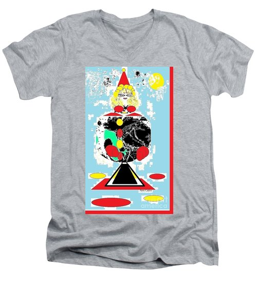 Clowning Around Men's V-Neck T-Shirt