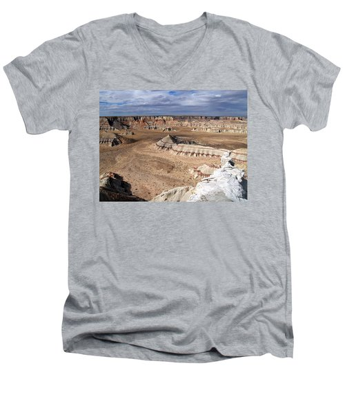 Coal Mine Mesa 11 Men's V-Neck T-Shirt