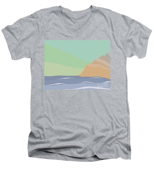 Coastal Bank Men's V-Neck T-Shirt