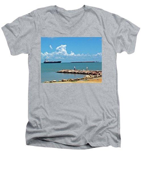 Coastal Living Men's V-Neck T-Shirt