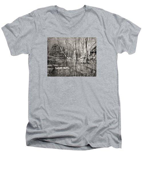 Coaster Reflections Men's V-Neck T-Shirt