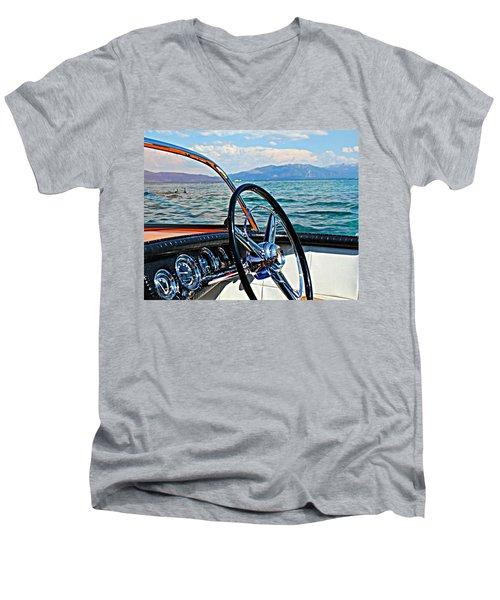Cobra Cockpit Men's V-Neck T-Shirt
