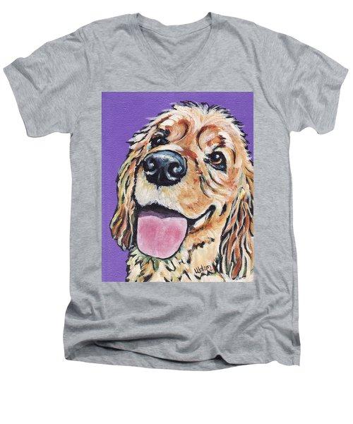 Cocker Spaniel Men's V-Neck T-Shirt