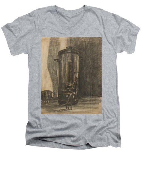 Coffee For The Boss Men's V-Neck T-Shirt