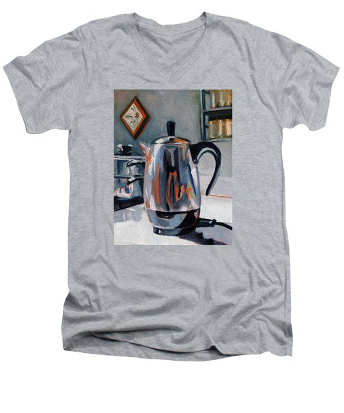 Coffeepot Men's V-Neck T-Shirt