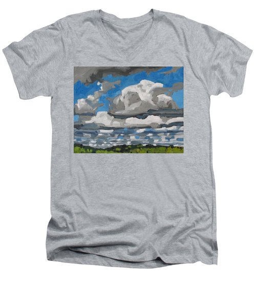 Cold Air Mass Cumulus Men's V-Neck T-Shirt
