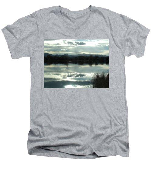Cold Light Men's V-Neck T-Shirt