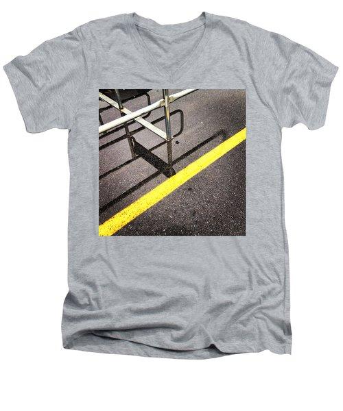 Cold Morning Shopping Men's V-Neck T-Shirt