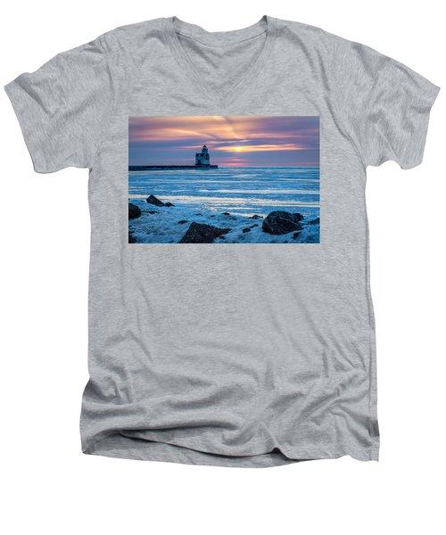Cold Pastels Men's V-Neck T-Shirt
