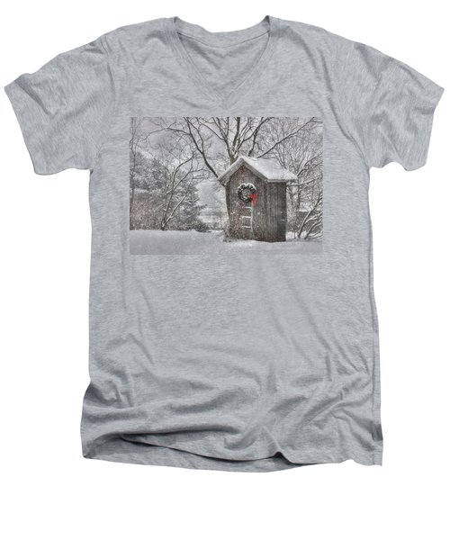 Cold Seat Men's V-Neck T-Shirt