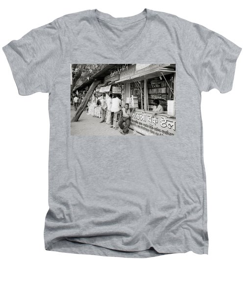 College Street Calcutta  Men's V-Neck T-Shirt