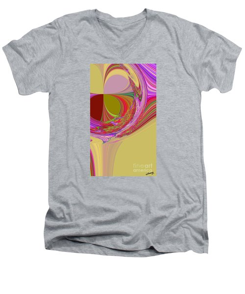 Color Symphony Men's V-Neck T-Shirt