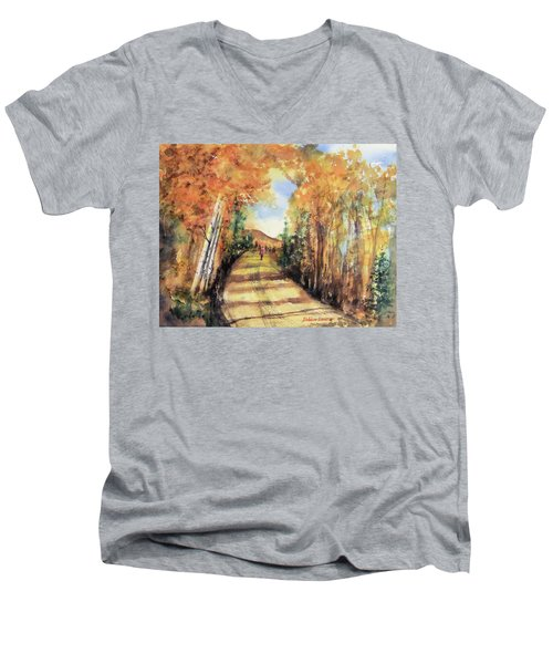 Colorado In September Men's V-Neck T-Shirt