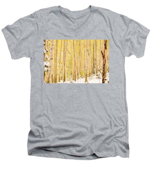 Colored Pencils Men's V-Neck T-Shirt
