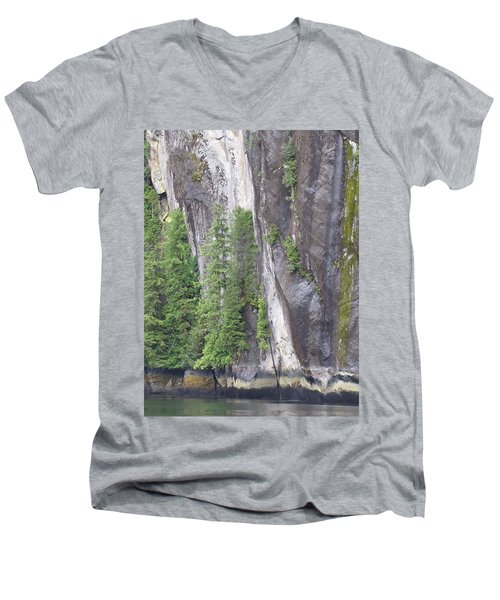 Colors Of Alaska - More From Misty Fjords Men's V-Neck T-Shirt