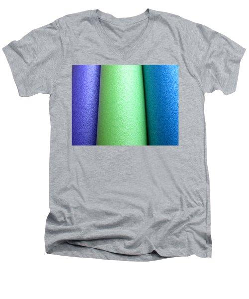 Colorscape Tubes A Men's V-Neck T-Shirt