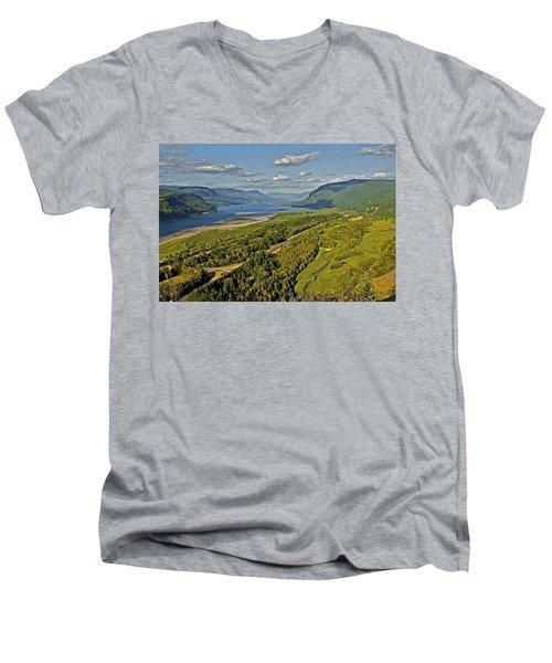 Columbia Gorge Men's V-Neck T-Shirt