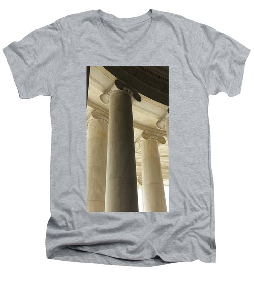 Columns Stand Guard Men's V-Neck T-Shirt