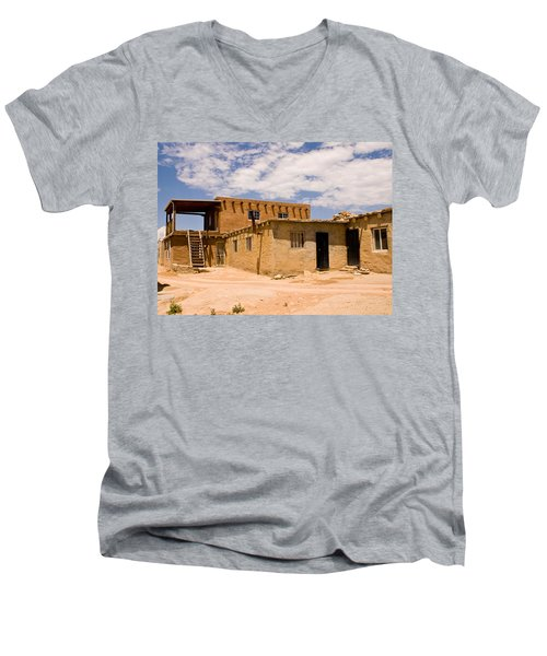 Acoma Pueblo Home Men's V-Neck T-Shirt
