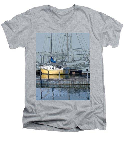 Come Away Men's V-Neck T-Shirt