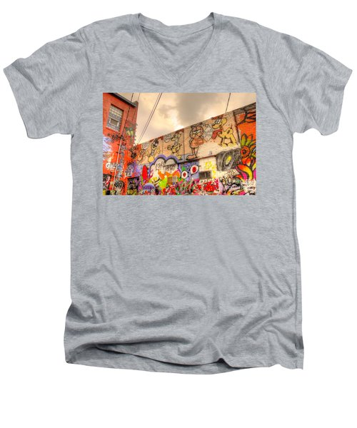 Comical Relief Men's V-Neck T-Shirt
