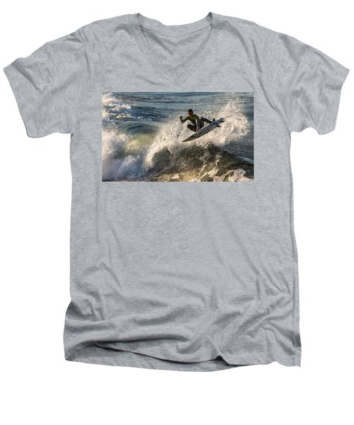 Coming Up For Air Men's V-Neck T-Shirt