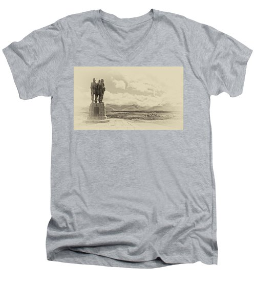 Commando Memorial 3 Men's V-Neck T-Shirt
