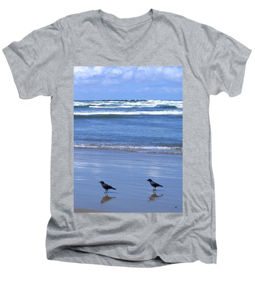Companion Crows Men's V-Neck T-Shirt