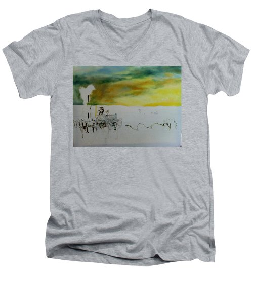 Composition2 Men's V-Neck T-Shirt