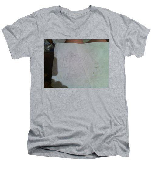 Conceptualizing - 1 Men's V-Neck T-Shirt
