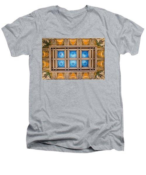 Congress Art Men's V-Neck T-Shirt