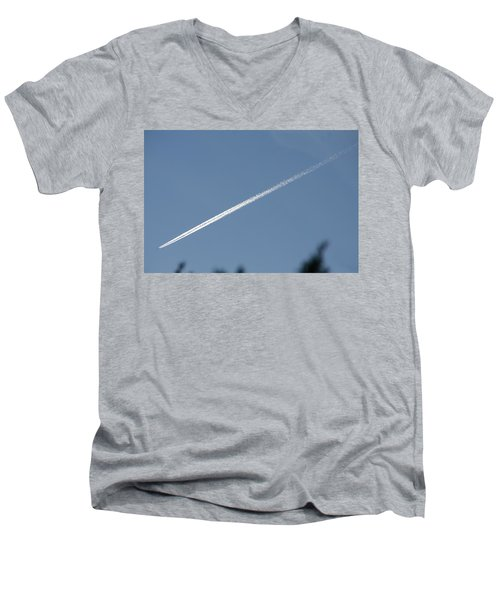 Contrail Men's V-Neck T-Shirt