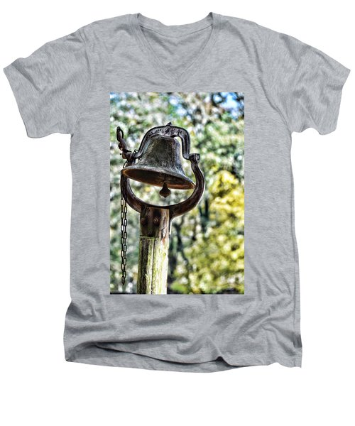 Cooks Dinner Bell Men's V-Neck T-Shirt