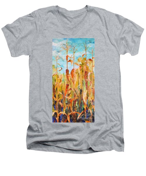 Corny Men's V-Neck T-Shirt