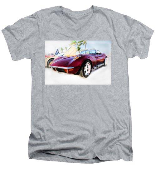 Chevrolet Corvette Series 02 Men's V-Neck T-Shirt