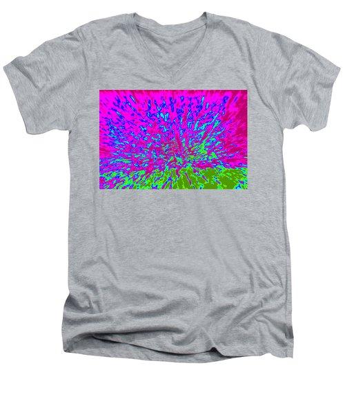 Cosmic Series 014 Men's V-Neck T-Shirt