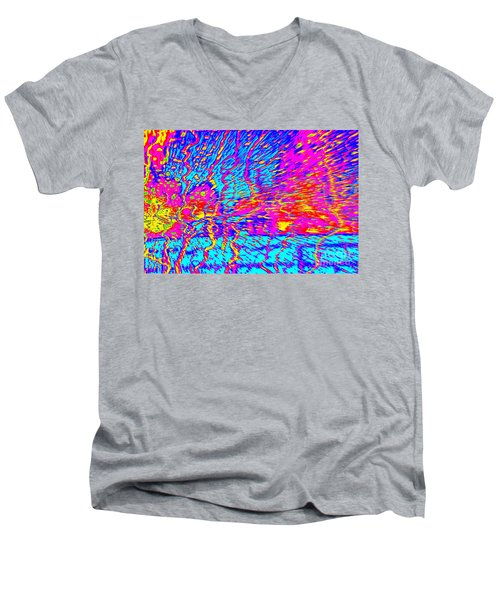 Cosmic Series 021 Men's V-Neck T-Shirt