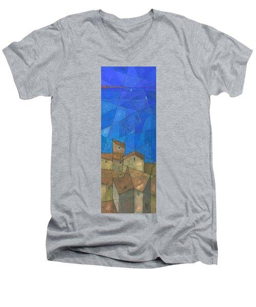 Cote D Azur II Men's V-Neck T-Shirt