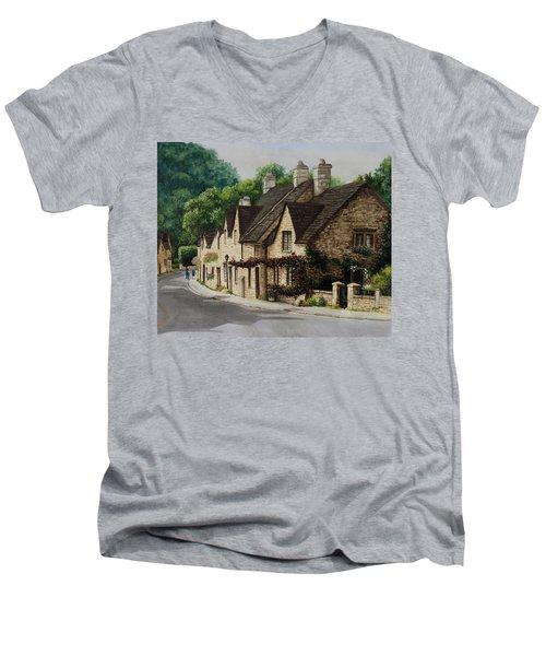 Cotswold Street Men's V-Neck T-Shirt