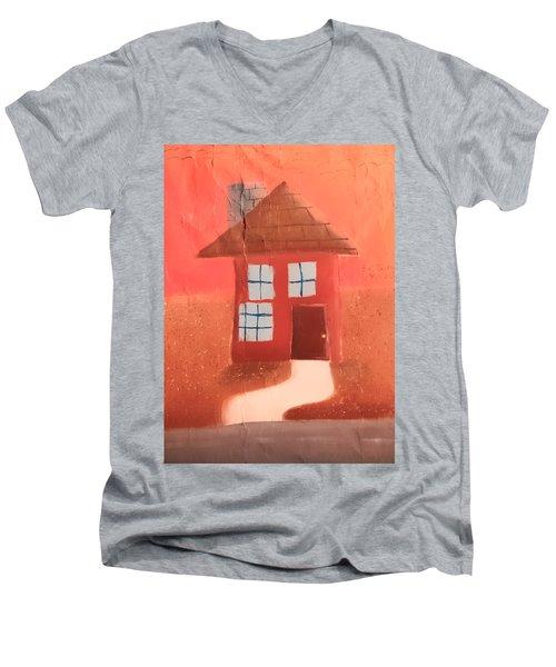Cottage Men's V-Neck T-Shirt