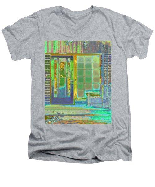 Cottage Porch Men's V-Neck T-Shirt